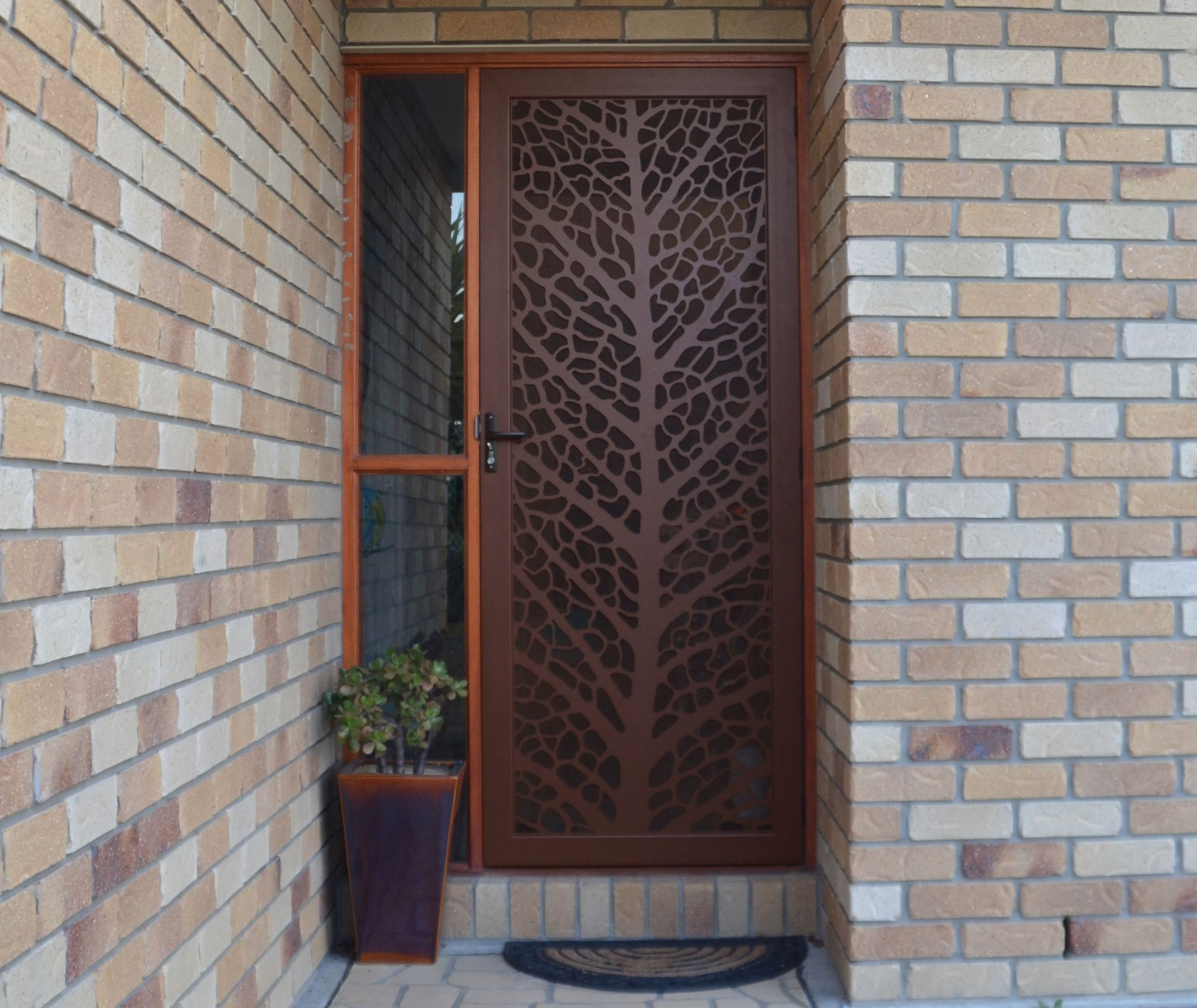 Decorative security screen doors for Door design cnc
