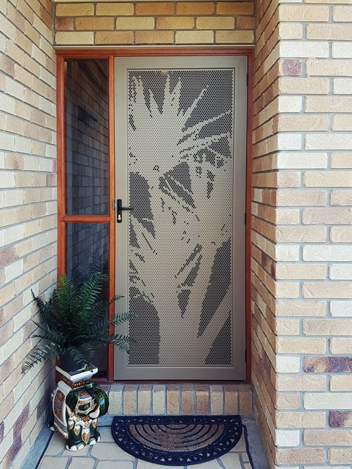 Awesome DECOVIEW DECORATIVE SECURITY SCREEN DOORS