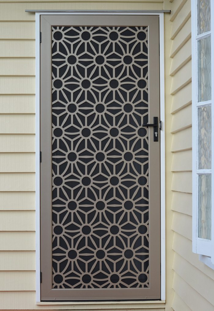Laser Cut Decorative Security Screens For Doors And Windows