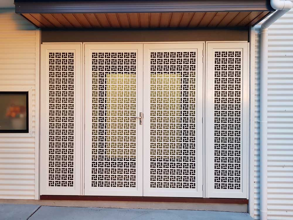 WE SERVICE NATIONWIDE & laser cut decorative security screens for doors and windows